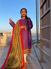 2 Piece Suit (Shirt and Dupatta)