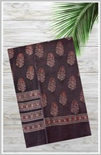 2 PIECE HAND BLOCK PRINTED SHIRT WITH DUPATTA